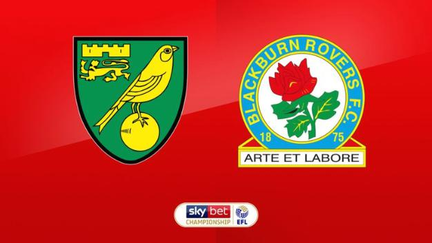 Championship: Norwich vs Blackburn